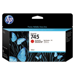 HP 745 (F9K00A) Chromatic Red Original Ink Cartridge