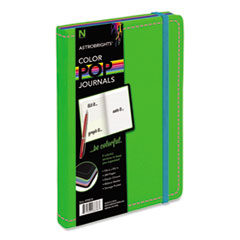 Astrobrights Journal, Ruled, 8 1/4 x 5 1/8, Green, 240 Sheets