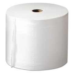 Mor-Soft Compact Bath Tissue, Two-Ply, White, 1000 Sheets/Roll, 36/Carton