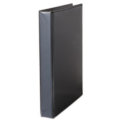 "Comfort Grip Deluxe Plus D-Ring View Binder, 1"" Capacity, 8-1/2 x 11, Black"