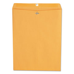 Kraft Clasp Envelope, Center Seam, 28lb, 12 x 15 1/2, Brown Kraft, 100/Box