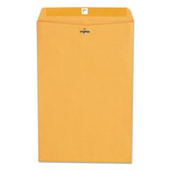 Kraft Clasp Envelope, Center Seam, 28lb, 10 x 15, Brown Kraft, 100/Box