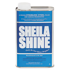 SHELIA SHINE LOW VOC STAINLESS STEEL CLEANER &