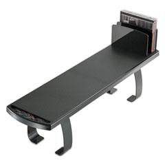 Heavy Duty Plastic Shelf, 25 5/8 x 7 x 6 3/4, Black