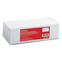 Peel Seal Strip Business Envelope, Security Tint, #10, White, 100/Box