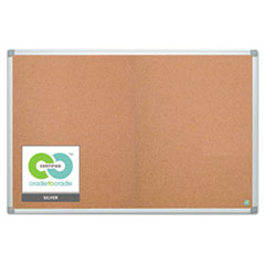 Earth Cork Board, 48 x 72, Aluminum Frame