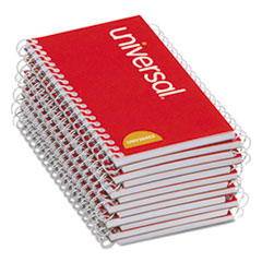 Wirebound Memo Book, Narrow Rule, 5 x 3, White, 12 50 Sheet Pads/Pack