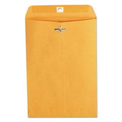 Kraft Clasp Envelope, Center Seam, 28lb, 6 1/2 x 9 1/2, Brown Kraft, 100/Box