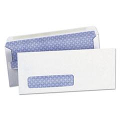 Self-Seal Security Envelope, Window, #10, 4 1/8 x 9 1/2, White, 500/Box