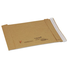 Jiffy Padded Self Seal Mailer, #1, 7 1/4 x 12, Natural Kraft, 100/Carton