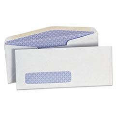 Security Tinted Window Business Envelope, #10, 4 1/8 x 9 1/2, White, 500/Box