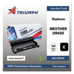 751000NSH1320 Remanufactured DR420 Drum Unit, Black