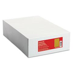 Kraft Clasp Envelope, Center Seam, 28lb, 9 1/2 x 12 1/2, Brown Kraft, 100/Box