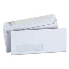 Peel Seal Strip Business Envelope, #10, Window, White, 500/Box
