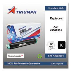 751000NSH1144 Remanufactured 43502301 Toner, Black
