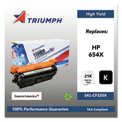 751000NSH1603 Remanufactured CF320X (654X) High-Yield Toner, Black