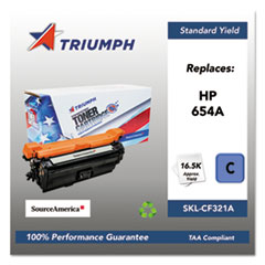 751000NSH1604 Remanufactured CF321A (654A) Toner, Cyan