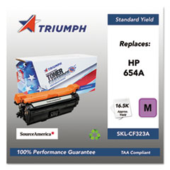 751000NSH1606 Remanufactured CF323A (654A) Toner, Magenta