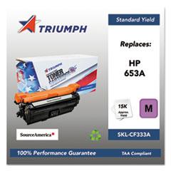 751000NSH1602 Remanufactured CF333A (653A) Toner, Magenta