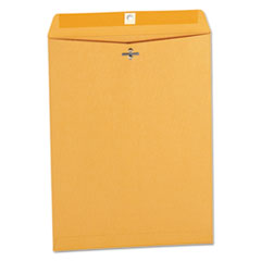 Kraft Clasp Envelope, Center Seam, 32lb, 9 1/2 x 12 1/2, Brown Kraft, 100/Box