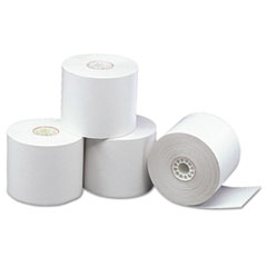 "Direct Thermal Printing Thermal Paper Rolls, 2 5/16"" x 338 ft, White, 12/Carton"