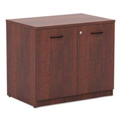 Alera Valencia Series Storage Cabinet, 34w x 22 3/4d x 29 1/2h, Medium Cherry