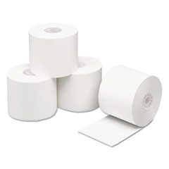 "Direct Thermal Printing Thermal Paper Rolls, 2 1/4"" x 200 ft, White, 50/Carton"