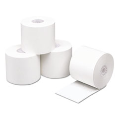 """Direct Thermal Printing Thermal Paper Rolls, 2 1/4"""" x 230 ft, White, 50/Carton"""