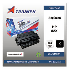 751000NSH0184 Remanufactured C4182X (82X) High-Yield Toner, Black