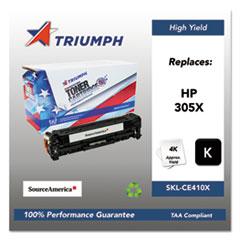 751000NSH1284 Remanufactured CE410X (305X) High-Yield Toner, Black
