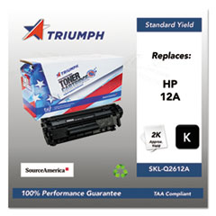 751000NSH0171 Remanufactured Q2612A (12A) Toner, Black