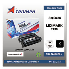 751000NSH0384 Remanufactured 12A8425 High-Yield Toner, Black