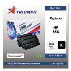 751000NSH1098 Remanufactured CE255X (55X) High-Yield Toner, Black