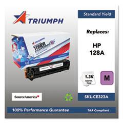 751000NSH1112 Remanufactured CE323A (128A) Toner, Magenta