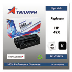 751000NSH0358 Remanufactured Q5949X (49X) High-Yield Toner, Black