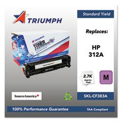 751000NSH1410 Remanufactured CF383A (312A) Toner, Magenta