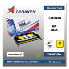 751000NSH0304 Remanufactured Q7582A (503A) Toner, Yellow