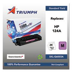 751000NSH0294 Remanufactured Q6003A (124A) Toner, Magenta