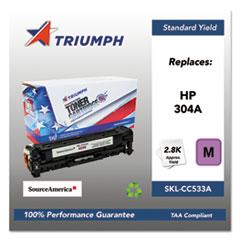 751000NSH0974 Remanufactured CC533A (304A) Toner, Magenta