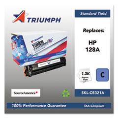 751000NSH1110 Remanufactured CE321A (128A) Toner, Cyan