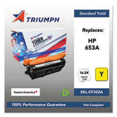 751000NSH1605 Remanufactured CF322A (653A) Toner, Yellow