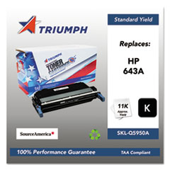 751000NSH0283 Remanufactured Q5950A (643A) Toner, Black
