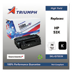 751000NSH0364 Remanufactured Q7553X (53X) High-Yield Toner, Black