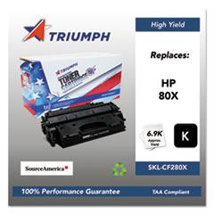 751000NSH1319 Remanufactured CF280X (80X) High-Yield Toner, Black