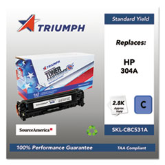 751000NSH0972 Remanufactured CC531A (304A) Toner, Cyan