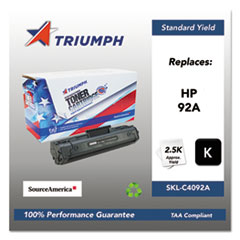 751000NSH0172 Remanufactured C4092A (92A) Toner, Black