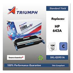 751000NSH0284 Remanufactured Q5951A (643A) Toner, Cyan
