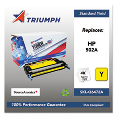 751000NSH0297 Remanufactured Q6472A (502A) Toner, Yellow