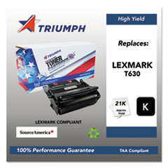 751000NSH0212 Remanufactured 12A7462 (T630) High-Yield Toner, Black