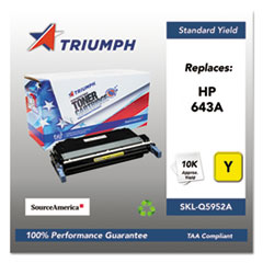 751000NSH0285 Remanufactured Q5952A (643A) Toner, Yellow